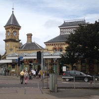 Photo taken at Eastbourne Railway Station (EBN) by Edoardo M. on 8/20/2012