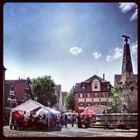 Photo taken at Marktplatz by sixtina on 7/14/2012