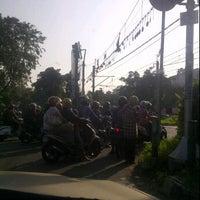 Photo taken at Lampu Merah Permata Hijau by Tjuk i. on 6/19/2012