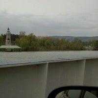Photo taken at Crown Point Bridge Ferry by Sara O. on 5/14/2011