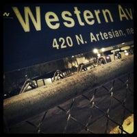 Photo taken at Metra - Western Avenue by Gediminas S. on 1/28/2011