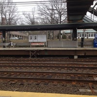 Photo taken at Metro North - Noroton Heights Train Station by Stéfani F. on 3/18/2012