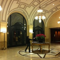 Photo taken at Palace Hotel by Ismail E. on 2/3/2011
