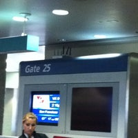 Photo taken at Gate 25 by Carol M. on 8/29/2011