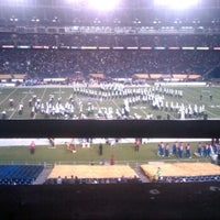 Photo taken at San Diego County Credit Union Poinsettia Bowl by Mark B. on 12/22/2011