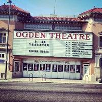 Photo taken at Ogden Theatre by Josh G. on 8/25/2012
