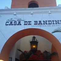 Photo taken at Casa De Bandini by Pete A. on 2/10/2012