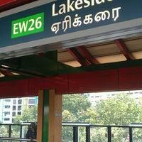 Photo taken at Lakeside MRT Station (EW26) by Vinay W. on 6/21/2011