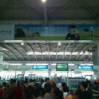 Photo taken at Dalian Zhoushuizi International Airport (DLC) by Daton L. on 10/12/2011
