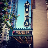 Photo taken at Tampa Theatre by Priscilla M. on 7/30/2012