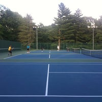 Photo taken at FVCC Tennis Courts by annie b. on 6/22/2011