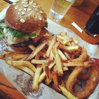 Photo taken at Bareburger by Sameer on 11/22/2011