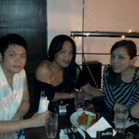 Photo taken at Luna Restobar by mykmedina on 10/15/2011