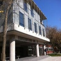 Photo taken at Escuela de Construcción Civil UC by Natty . on 8/2/2012