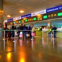 Photo taken at Gran Canaria Airport by Rafa P. on 4/4/2012