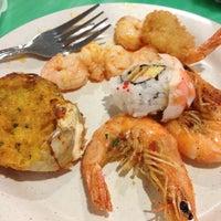 Photo taken at Sakura Seafood Buffet by Andy🔥 F. on 3/10/2012