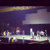 Photo taken at Bell Auditorium by Lindsay on 8/11/2012