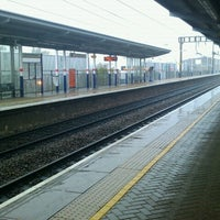 Photo taken at Luton Airport Parkway Railway Station (LTN) by Andris S. on 7/29/2012