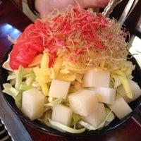Photo taken at おしお 本店 by Keiko K. on 6/3/2012