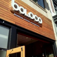 Photo taken at Boloco by Megan M. on 3/20/2012