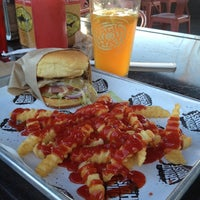 Photo taken at Grindhouse Killer Burgers by Dhiro H. on 3/26/2012