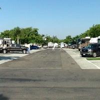 Photo taken at Anaheim RV Park by Jesse on 7/30/2012