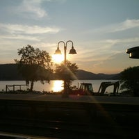 Photo taken at Metro North - Peekskill Train Station by Jason W. on 7/11/2012