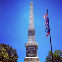 Photo taken at Oakland Cemetery by Chad E. on 6/2/2012