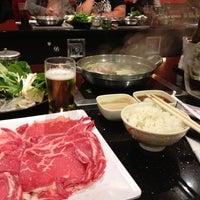 Photo taken at Tokyo Shabu Shabu by Sarah B. on 4/28/2012