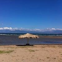 Photo taken at Liani Ammos Beach by Nikos K. on 11/24/2011