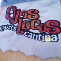 Photo taken at Ojos Locos Sports Cantina by John T. on 9/7/2012