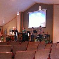 Photo taken at Tri Lakes Community Church by Matt V. on 11/13/2011