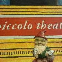 Photo taken at Piccolo Theatre by Whitney K. on 12/11/2011