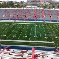 Photo taken at War Memorial Stadium / AT&T Field by Jake S. on 8/27/2012