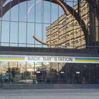 Photo taken at MBTA Back Bay Station (BBY) by Fred W. on 2/28/2012