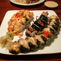 Photo taken at Samurai Blue Japanese Grill by Katie M. on 1/23/2012