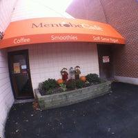 Photo taken at Mentobe Cafe by Ryan K. on 11/19/2011