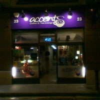 Photo taken at Accents Coffee & Tea Lounge by Sam B. on 12/1/2011
