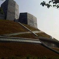 Photo taken at Bunderan Universitas Indonesia by Elvinateshiloh'smom S. on 9/14/2011