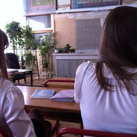 Photo taken at Школа № 1293 by Rabbit E. on 5/11/2012