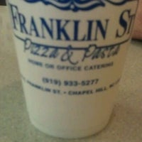Photo taken at Franklin St Pizza and Pasta by Judith M. on 10/14/2011