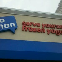 Photo taken at Yo Mon Frozen Yogurt by Brian H. on 8/1/2012