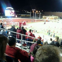 Photo taken at DW Rutledge Stadium by Laura S. on 11/12/2011