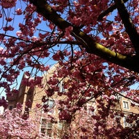 Photo taken at UW: Mary Gates Hall by Kate K. on 4/19/2012