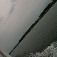 Photo taken at On A Boat by Michelle on 8/4/2011