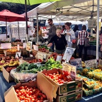 Photo taken at Fort Mason Farmers' Market by Taylor L. on 9/9/2012