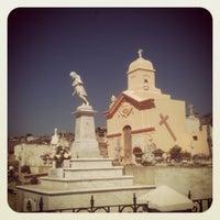 Photo taken at Cementerio de Playa Ancha by Gustavo M. on 9/1/2012