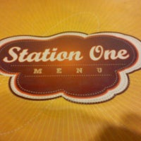 Photo taken at Station One Leisure Cafe by Cheryl C. on 8/26/2011