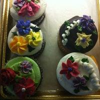 Photo taken at Amphora Bakery by Ava on 2/12/2012