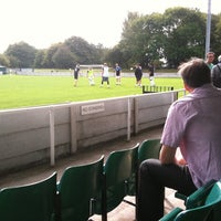 Photo taken at Trafford FC by Lawrence B. on 9/10/2011